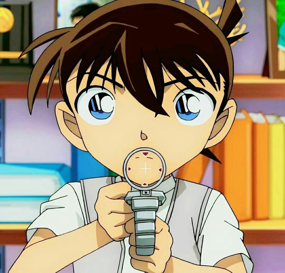 Hình ảnh trong Detective Conan của Mona Sama