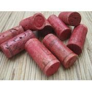 dyed wine corks