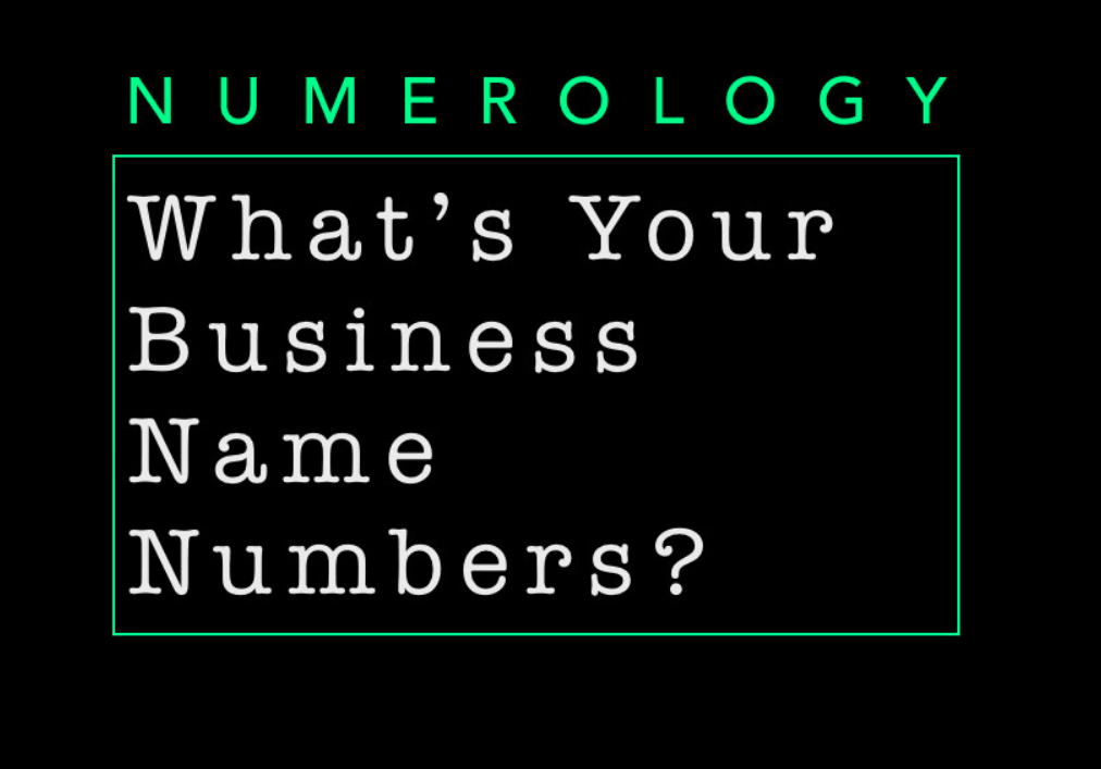 Pin on Numerology Business Name