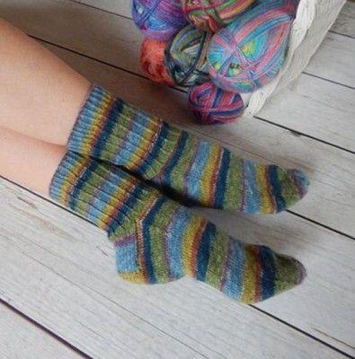 Free Ribbed Sock Knitting Pattern In Stylecraft Head Over Heels Get