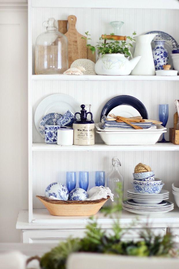 Summer hutch and styling tips (Craftberry Bush) | Pinterest | Küche