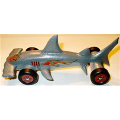 Hammerhead shark pinewood derby pinterest hammerhead for Pinewood derby shark template
