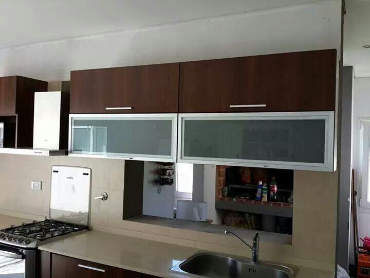 Mueble De Cocina Color Nogal Habano Kitchen Cabinets Home Decor Home