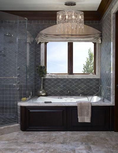Elegant Traditional Bathroom By Sarah Barnard For The Home - Elegant-traditional-bathrooms