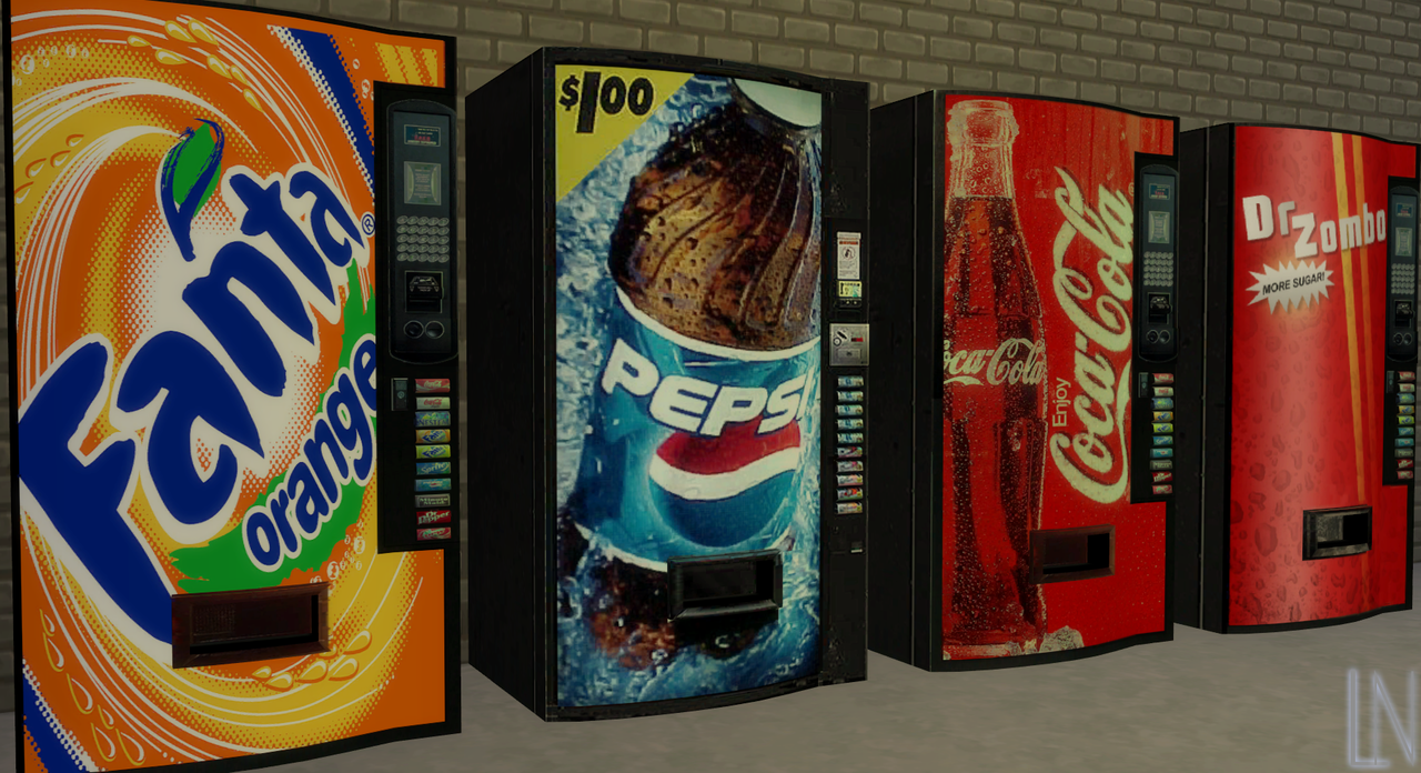Deco Snack Deco Vending Machines Snacks Just A Small Pack Containing 4