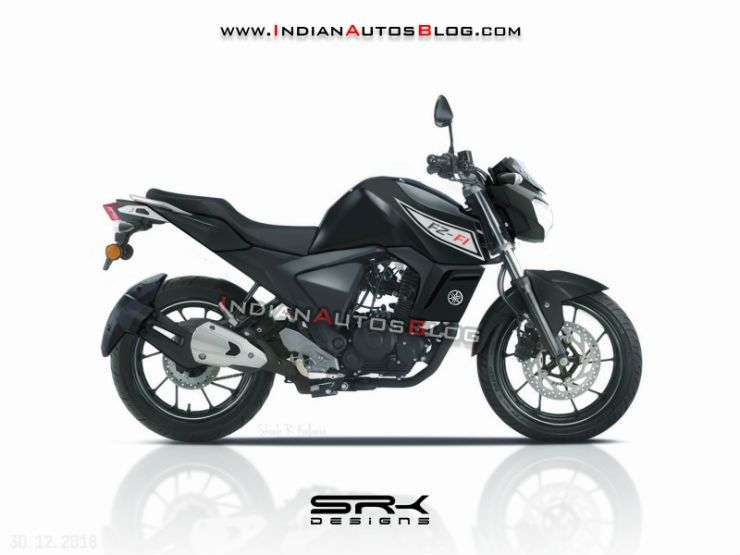 Upcoming 2019 Yamaha Fz V3 0 What It Ll Look Like Yamaha Fz