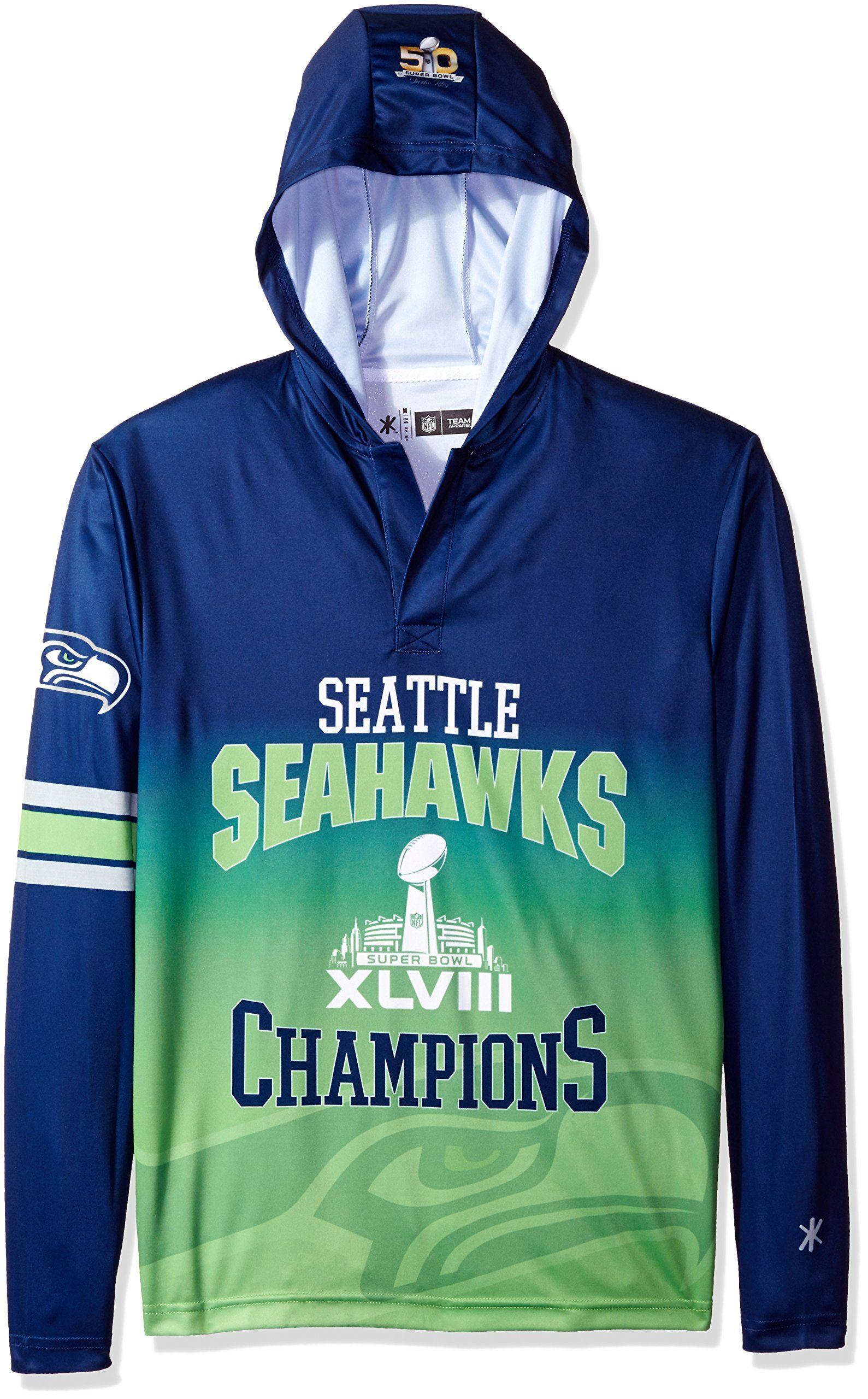 9c158f10 Seattle Seahawks Super Bowl Champs Sweatshirt - DREAMWORKS