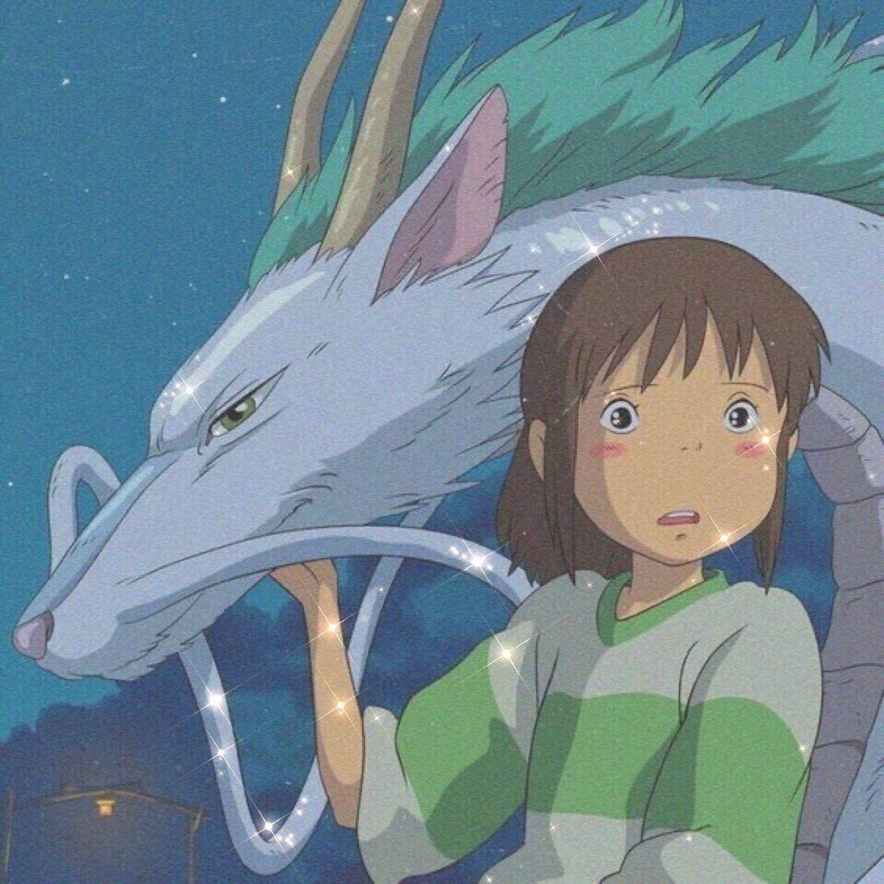 Icon Aesthetic Chichiro Spirited Away In 2020 Ghibli Artwork Ghibli Anime