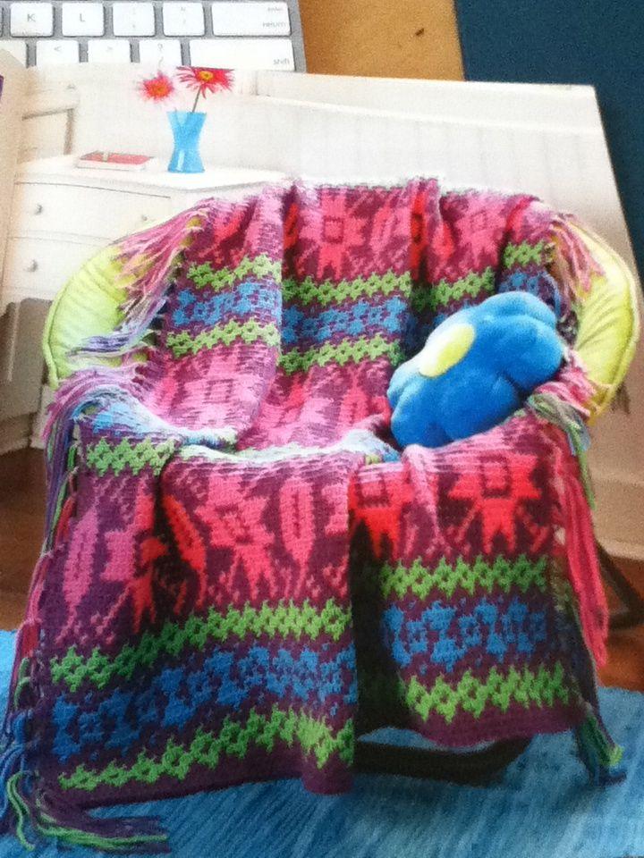Learning & Loving Crochet: Fair Isle Crochet   Virkning ...