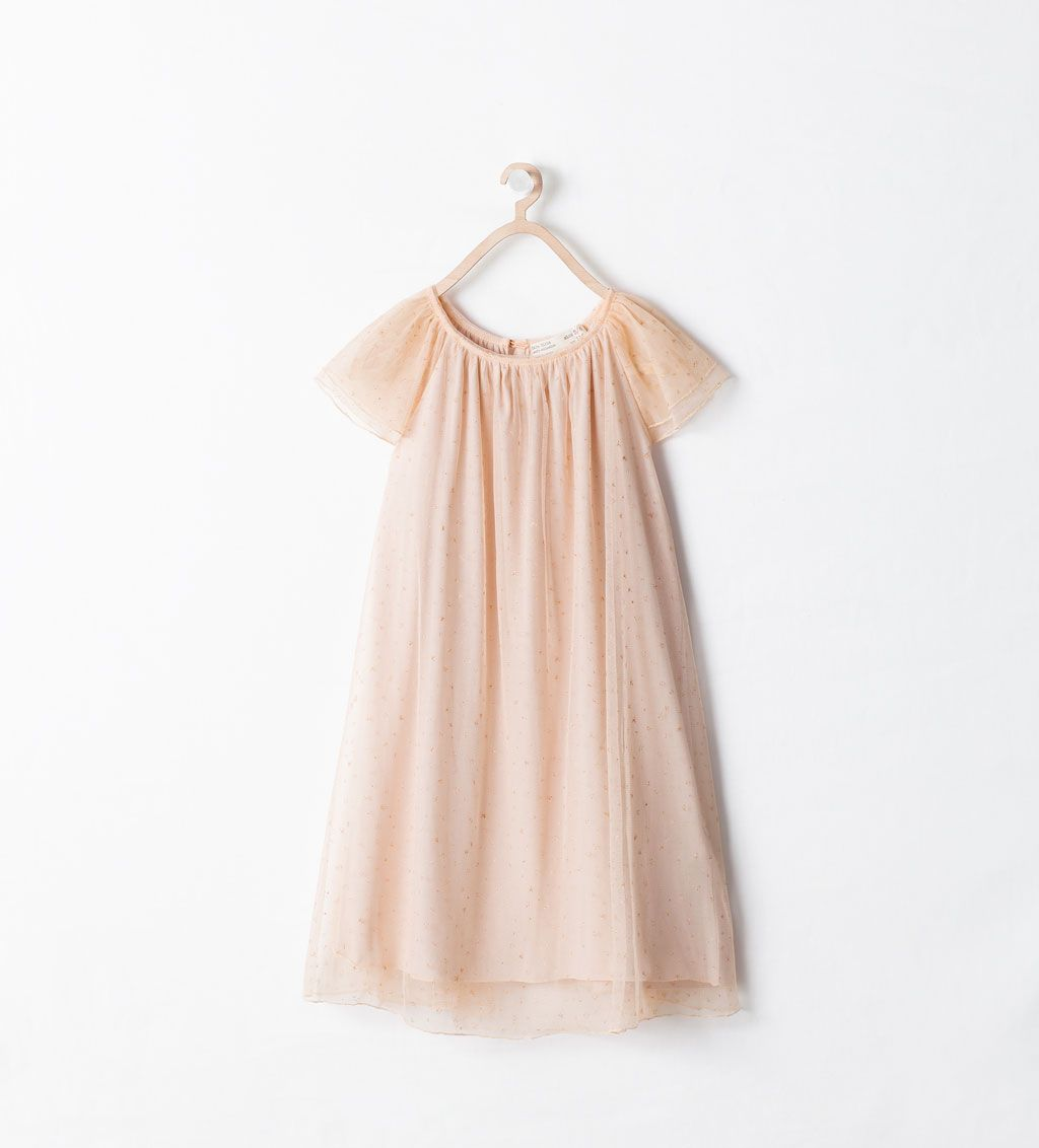 5d4808e640f TULLE DRESS WITH STARS-Stock clearance-Girl-KIDS-SALE | ZARA United States