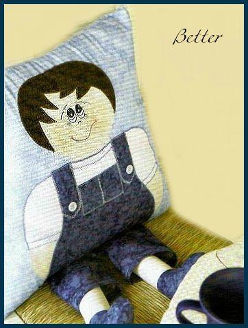 Текстильные фантазии и не только: Подушки с ножками