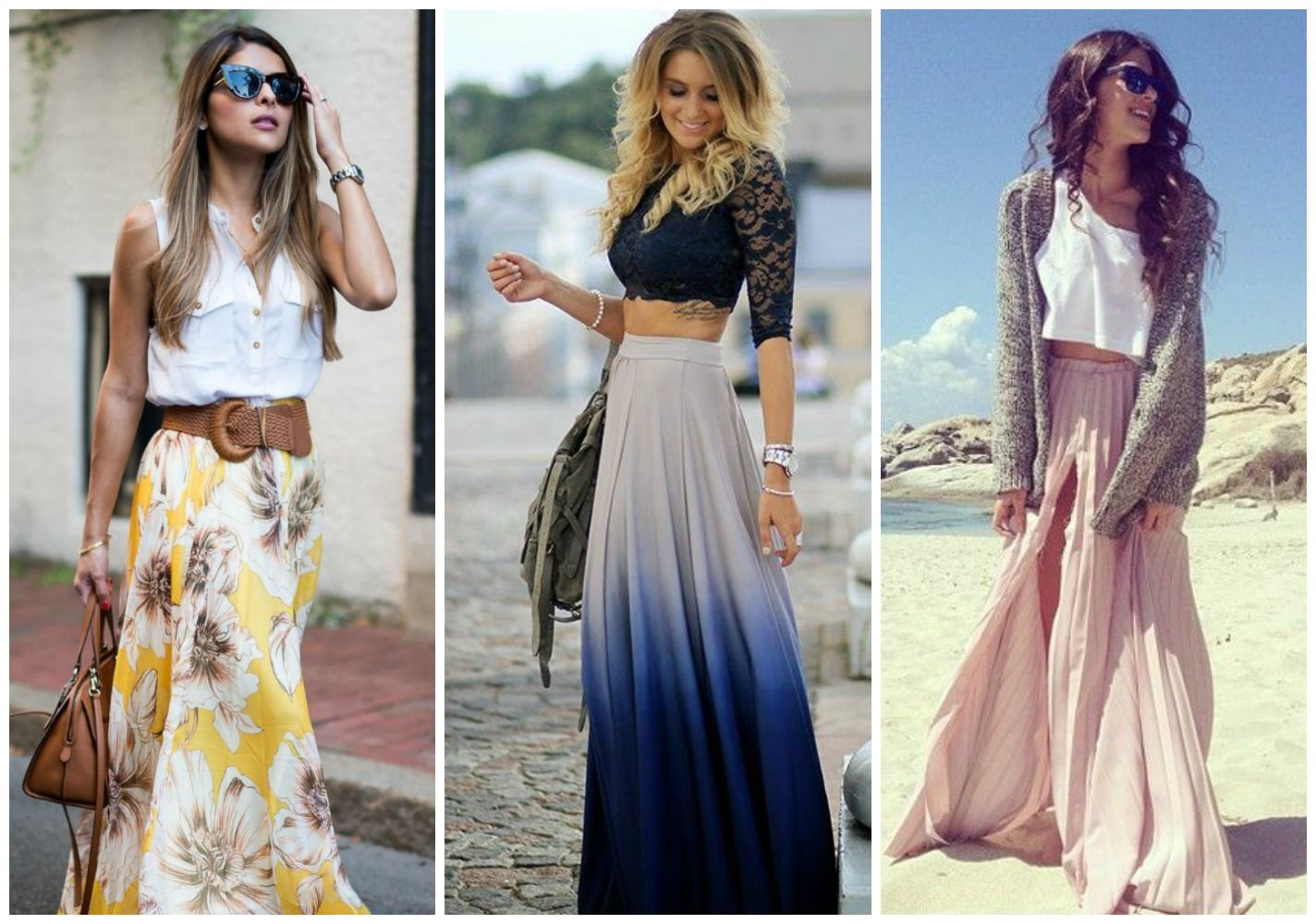 2412c6a45c Cómo Combinar Faldas Largas este Verano (y Primavera)