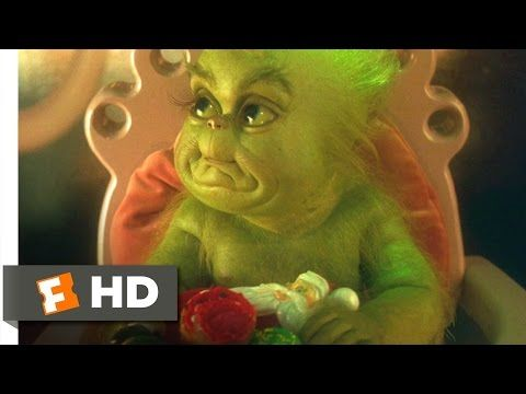 How The Grinch Stole Christmas 2 9 Movie Clip Baby Grinch 2000 Hd Baby Grinch Grinch Movie Clip