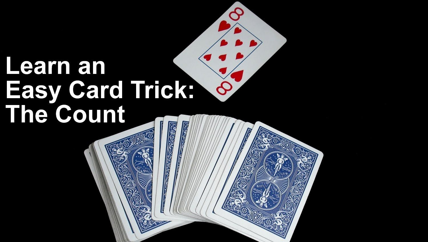 Here S An Excellent Self Working Card Trick And Before You Learn It Watch Me Perform It For Some College Students T Card Tricks Simple Cards Easy Card Tricks