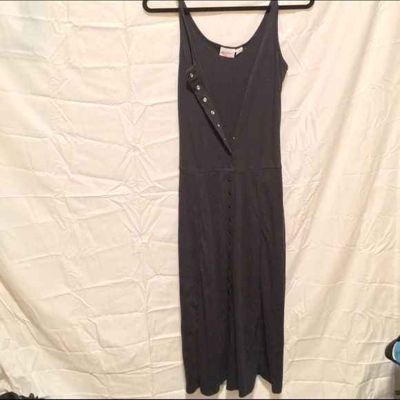 Black Dress Black Maxi Dress, Worn maybe three times. Great condition. buttons down in the front. Size small. Avon Fashions  Dresses Maxi