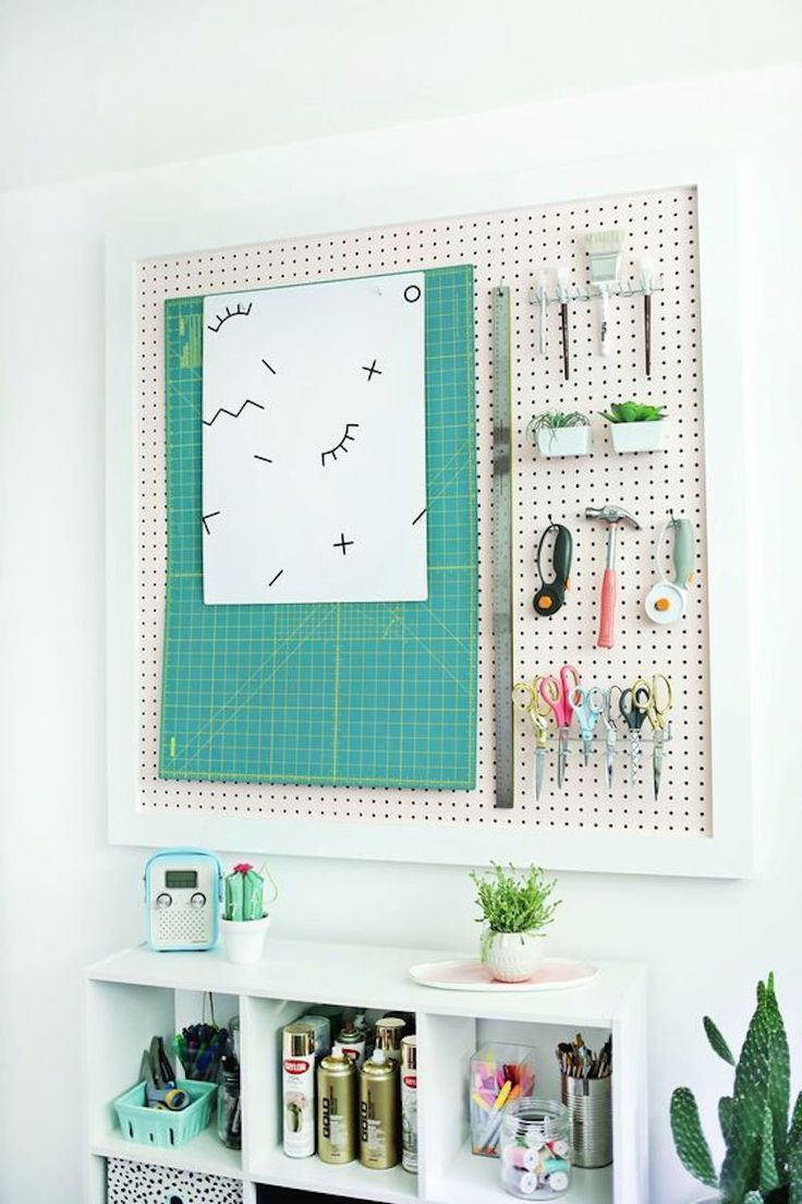 Photo of diy ideas, pegboard ideas, craft room ideas, do it yourself  Informationen zu 31…