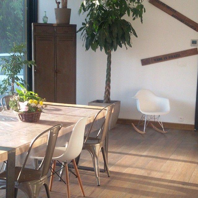 Melange De Chaise Scandinave Et Industrielle Deco Maison Chaise