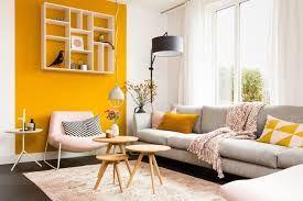 Afbeeldingsresultaat voor geel muur woonkamer | Styling woonkamer ...