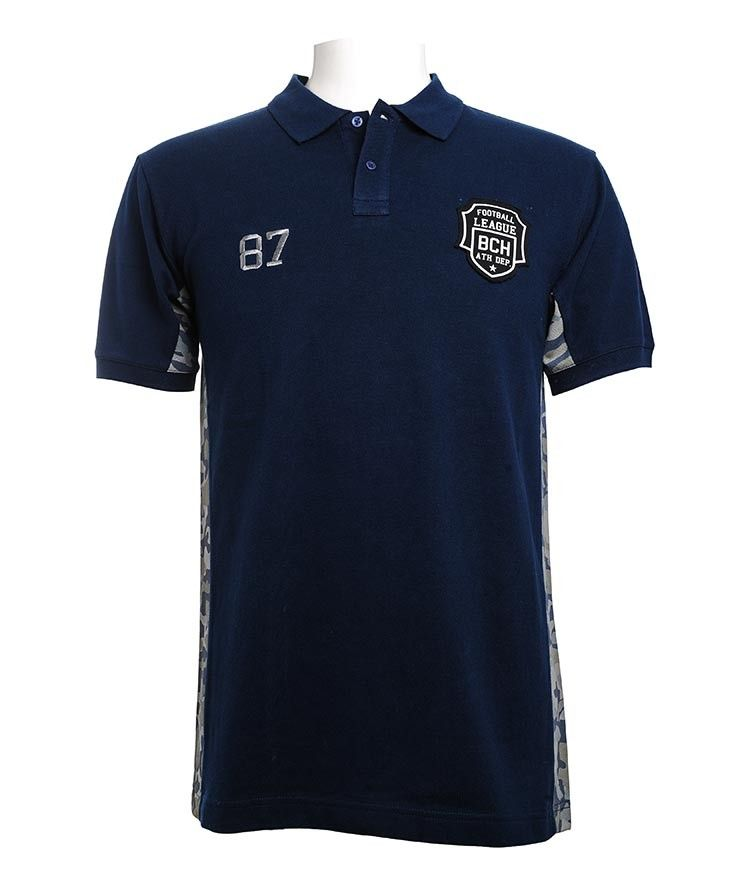 MEN - APPAREL - T-Shirts - Polo Shirt - Polo Shirt with Side Panel ...
