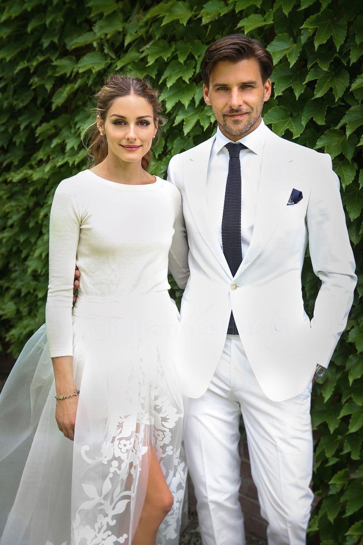 Celebrity Winter Wedding Dresses