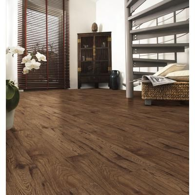 Kaindl One Laminate Flooring   Amber Hickory   Sq./Case)   34074   Home  Depot Canada