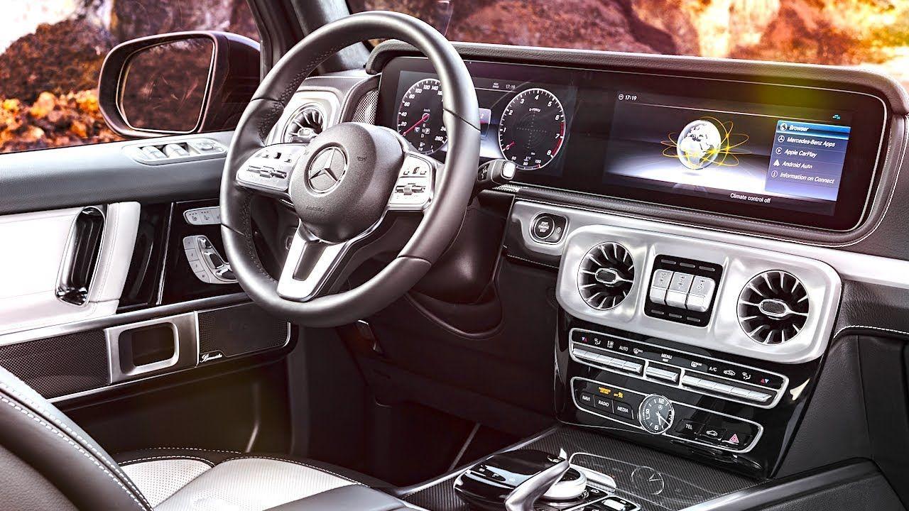 New Mercedes G Class Interior 2018 World Premiere Mercedes G Class