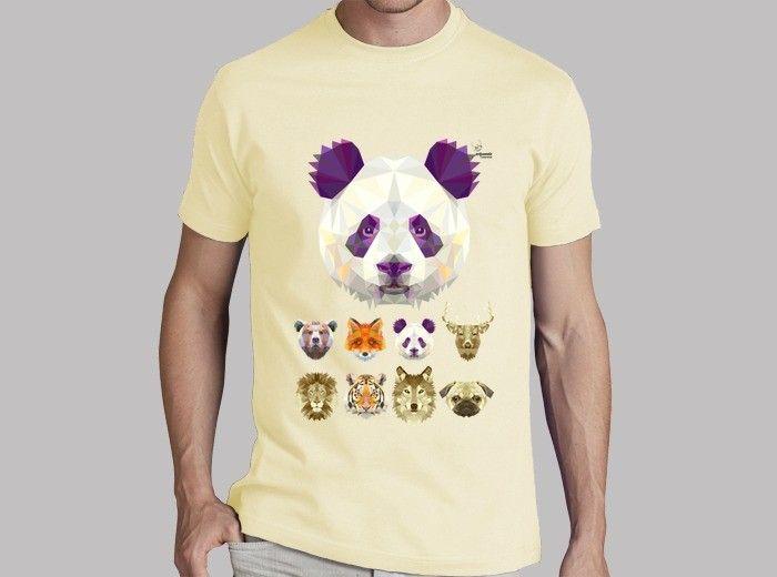 b23529dd19d52 Camiseta Panda A Partes De La Misa