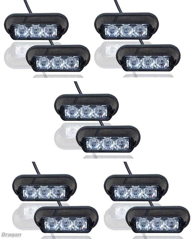 10x Amber Stroboskopische Beleuchtung Led Lampen Berge Fahrzeug Pannen Lkw Lampe Autos Und Motorrader Led Lampe Led