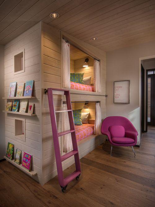 30 gemütliche rustikale Kinder Schlafzimmer Design-Ideen