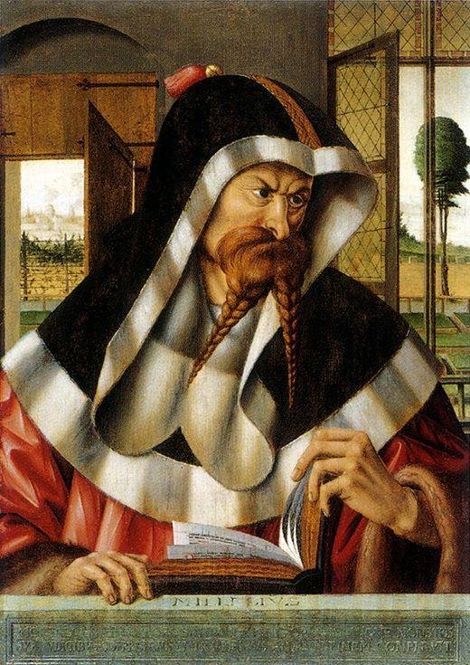 ROBERT CAMPIN (1375 - 1444)     Milesius (Ludger tom Ring the Elder after Robert Campin ) - Munster, Landesmuseum for Kunst and Kulturgeschichte