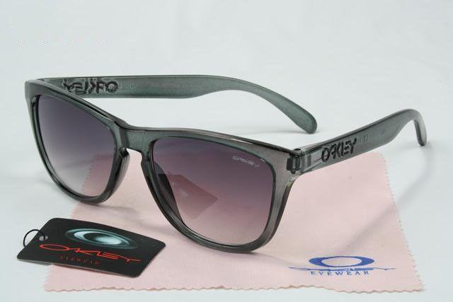 83f0349886c Oakley Frogskins Sunglasses crystal grey frames warm grey lens sale online