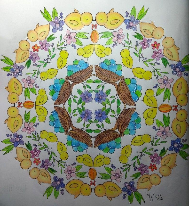 Bold Springtime To Color Eleri Fowler