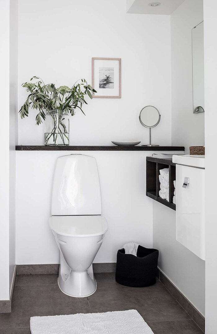 Så får du det lilla badrummet att kännas större – 7 tips #compactliving