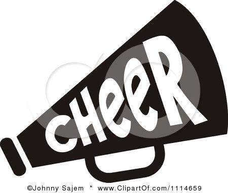 cheer megaphone clip art royalty free rf cheer megaphone clipart rh pinterest com cheer megaphone clipart black and white free cheerleading megaphone clipart