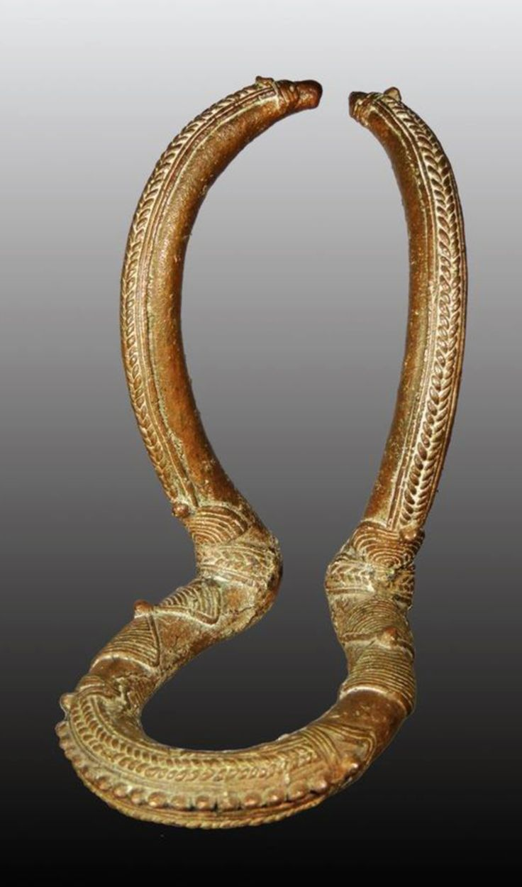Chad | Anklet from Kenga | Bronze alloy
