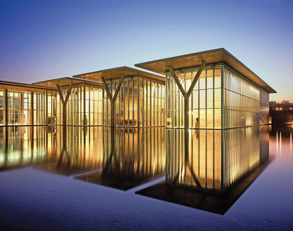 Modern Art Museum Of Fort Worth Texas Tadao Ando