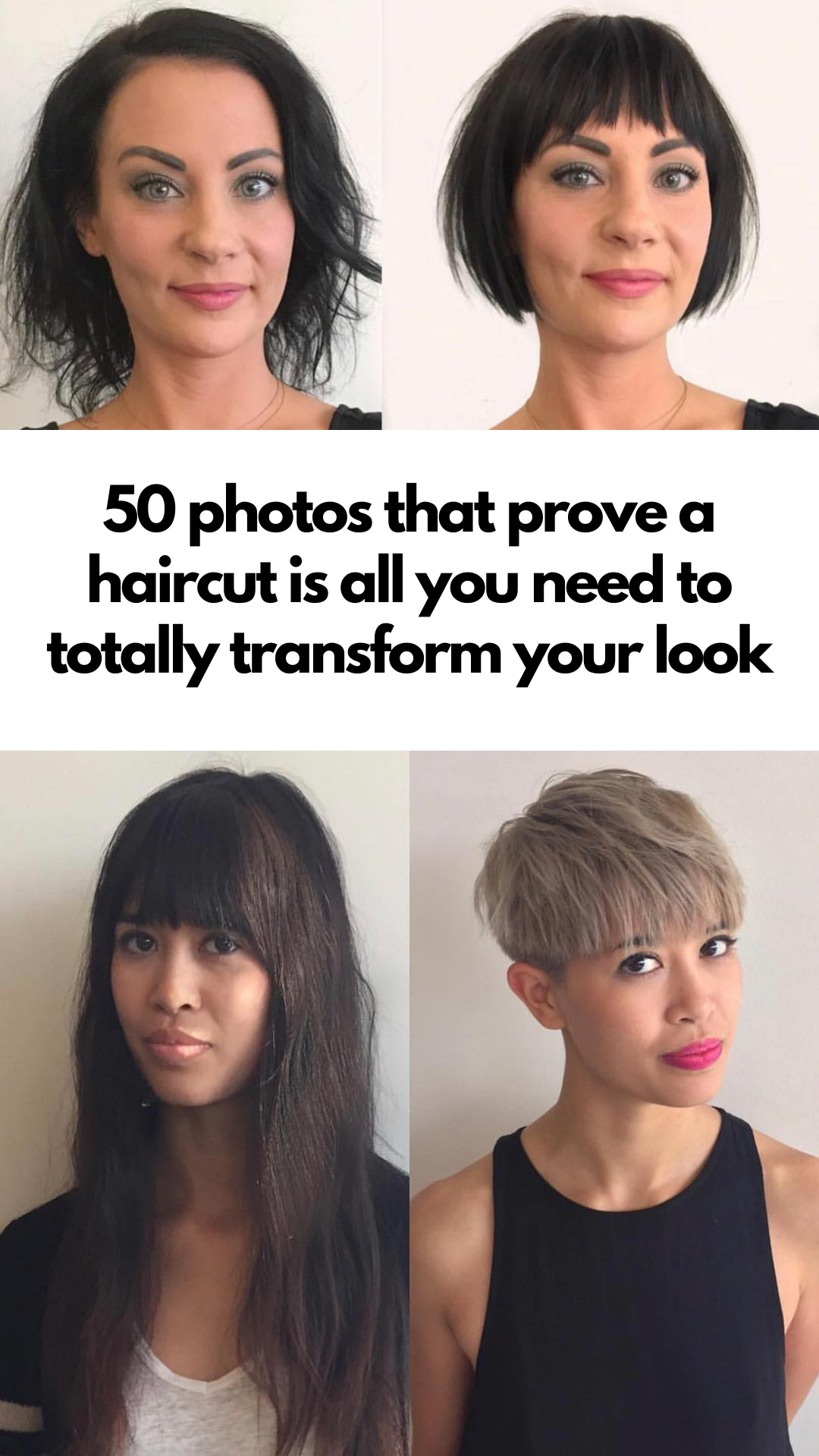 50 photos that prove a haircut is all you need to