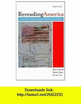 Rereading america 8e i claim 9780312624781 gary colombo robert rereading america 8e i claim 9780312624781 gary colombo robert cullen bonnie fandeluxe Image collections