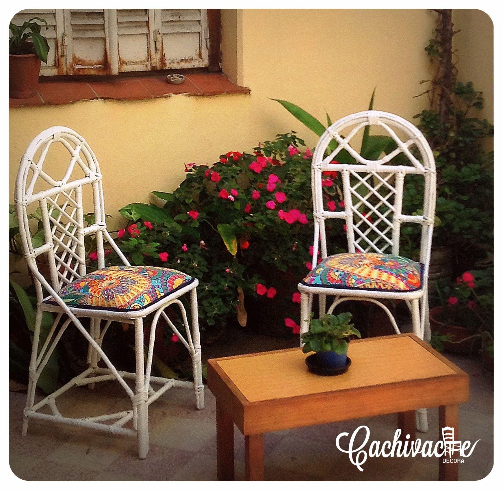 Sillas De Ca A Recicladas Cachivache Decora Pinterest # Muebles Reiclados
