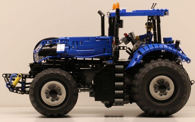 Lego Technic New Holland Tractor | colts stuff | Lego, Lego