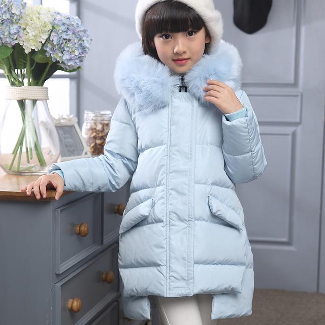 428d32feb Fashion Girl s Down jackets coats baby Girl winter Coats thick duck ...