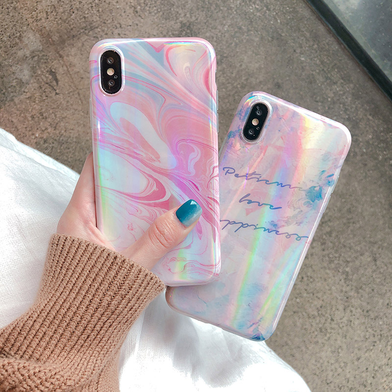 Abstract Dream Color Phone Iphone 6 6s 7 8 Plus Iphone X Xr Xs Max Back Cover Smooth Soft Cases Capa Iphone Iphone 6 Accessoires De Telephone