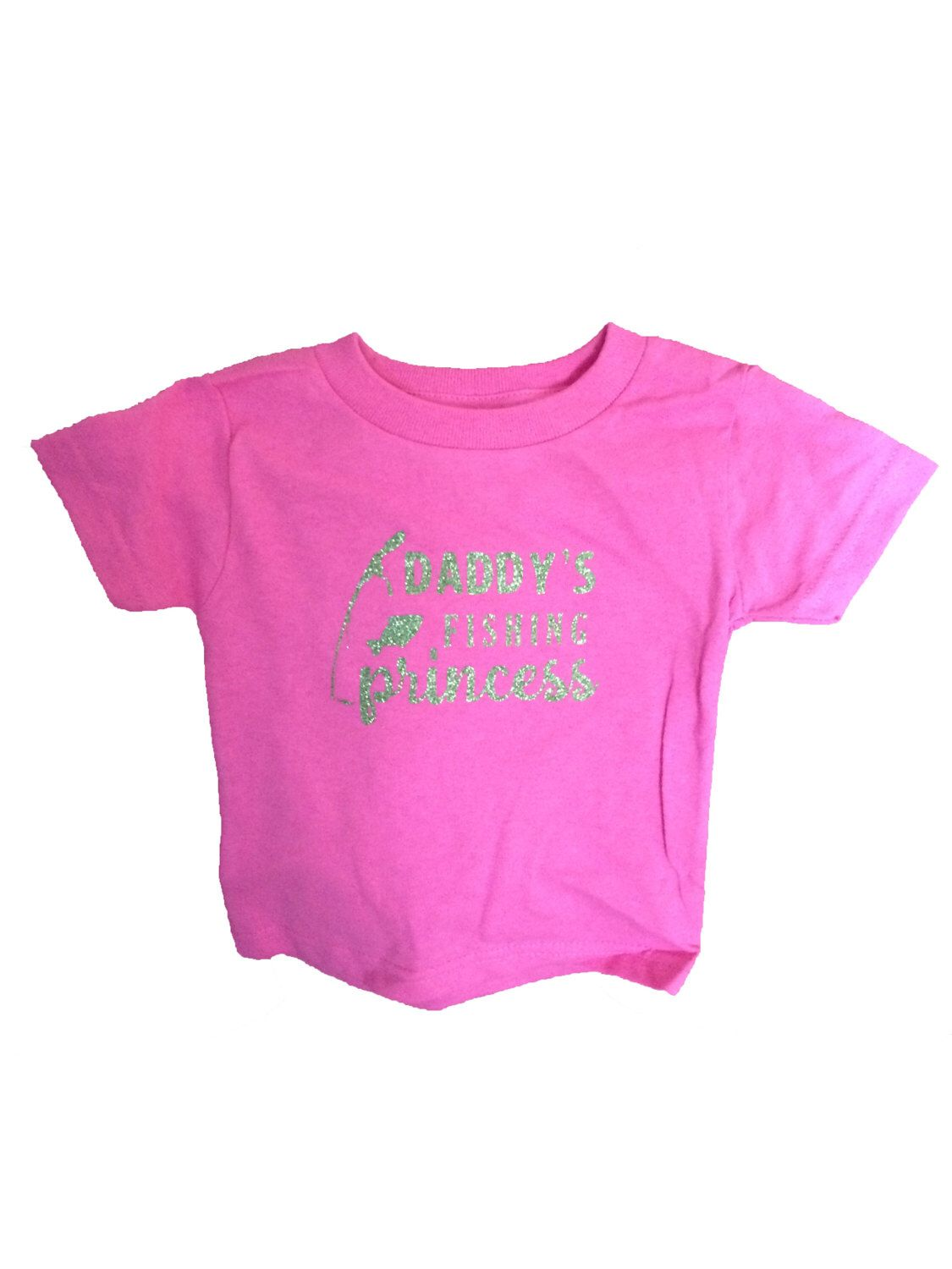 A personal favorite from my Etsy shop https://www.etsy.com/listing/260990708/girls-clothing-daddys-fishing-princess-t