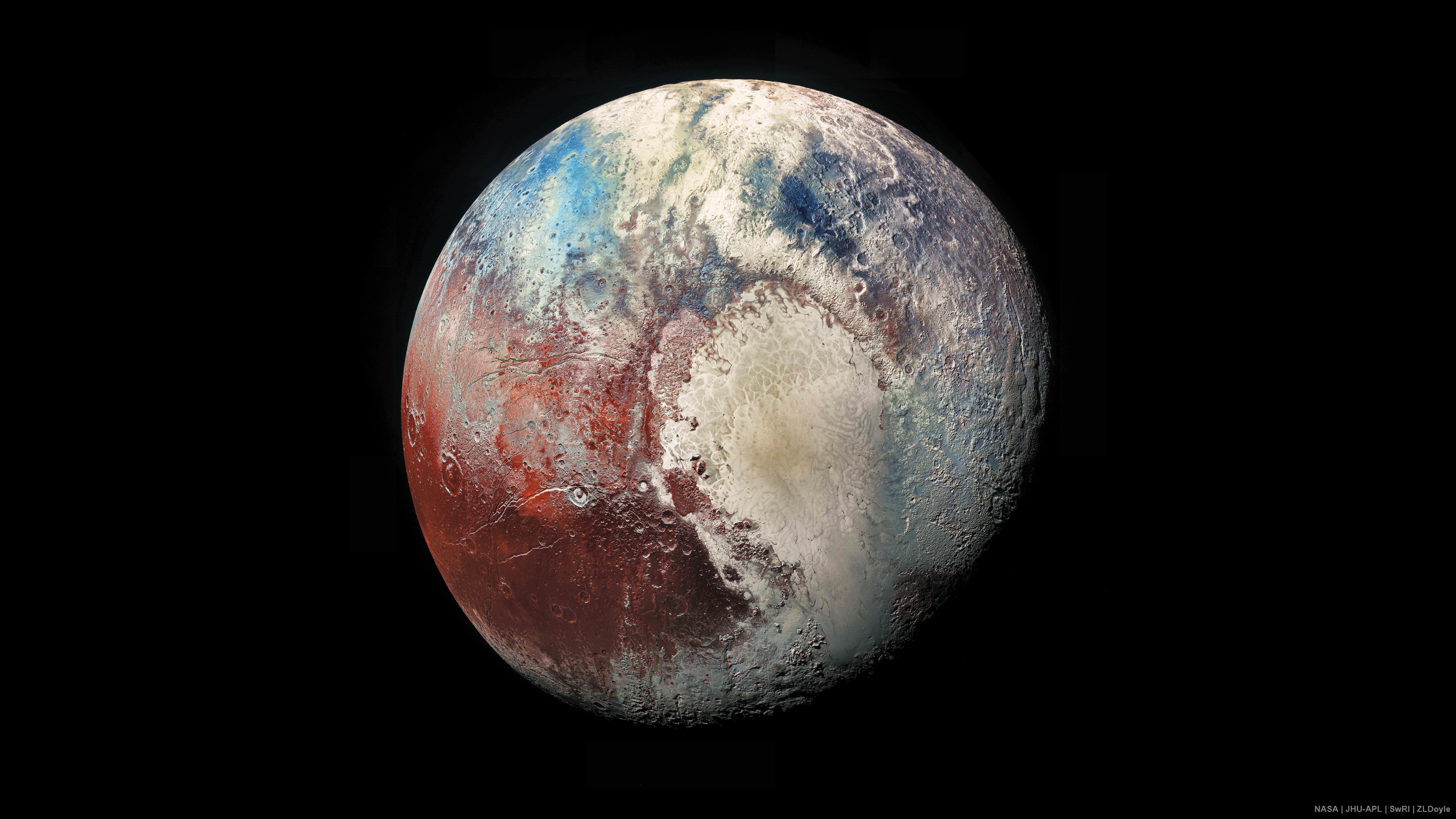 8k Nasa Pluto 4k 8k Wallpaper Hdwallpaper Desktop Pluto Pluto Planet Pluto Images