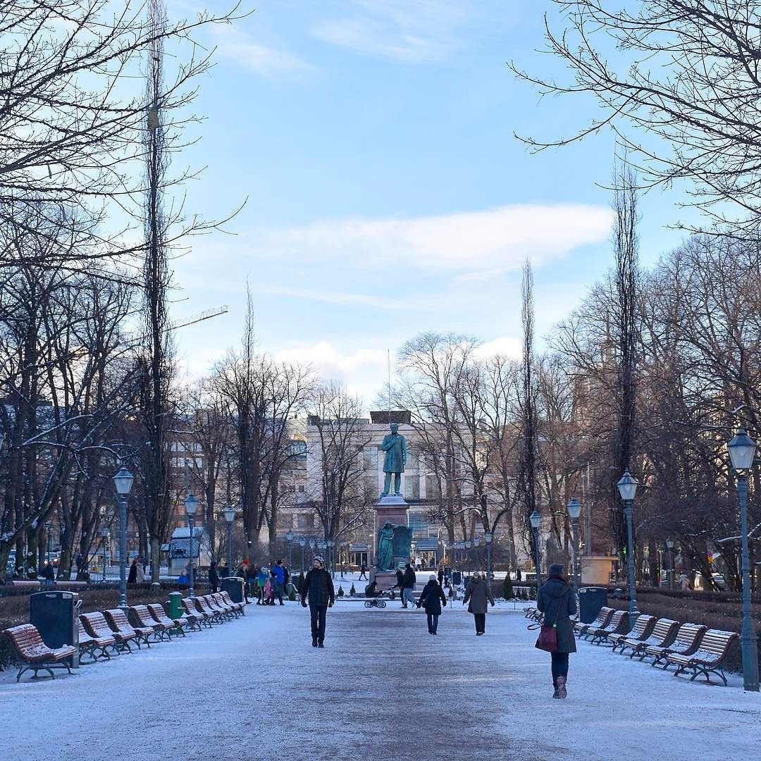 Freddo? Si! Ma tremendamente affascinante! #rainbowRTW qui ad #Helsinki #leviedelnord mi hanno già saputo emozionare non oso immaginare cosa mi aspetterà più a nord. Stanotte si viaggia verso Kemi! #visithelsinki #visitfinland