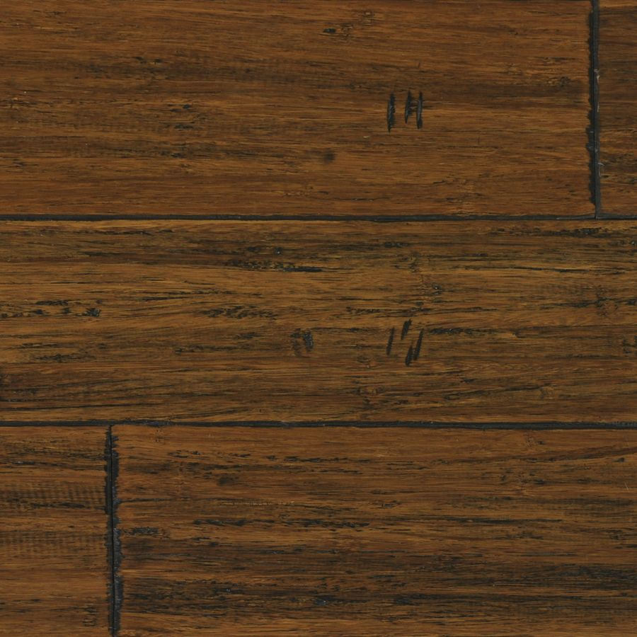 Shop tecsun 5.39in W Prefinished Bamboo Hardwood Flooring