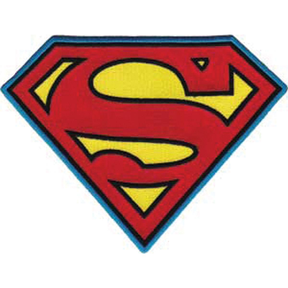 DC Comics Super Hero Patches Superman Insignia | Malen