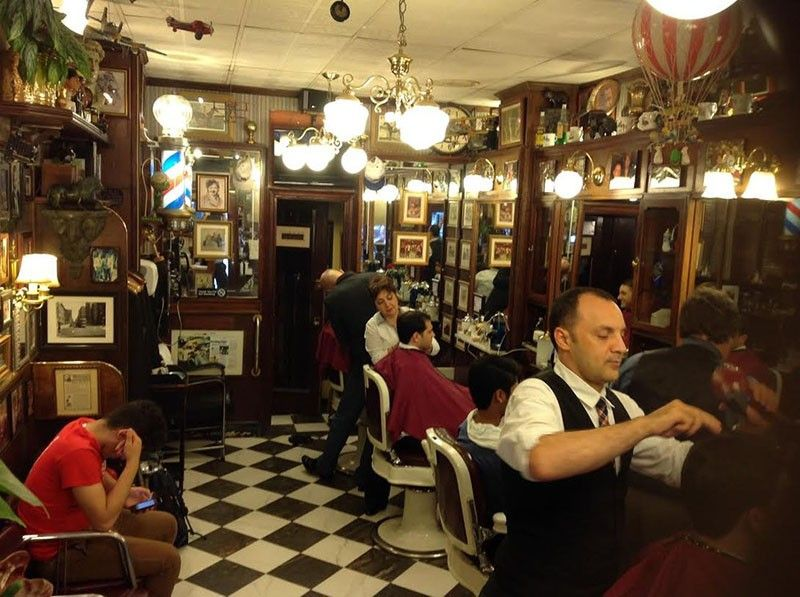 """If you are looking for a """"Mad Men""""style barber, York"""