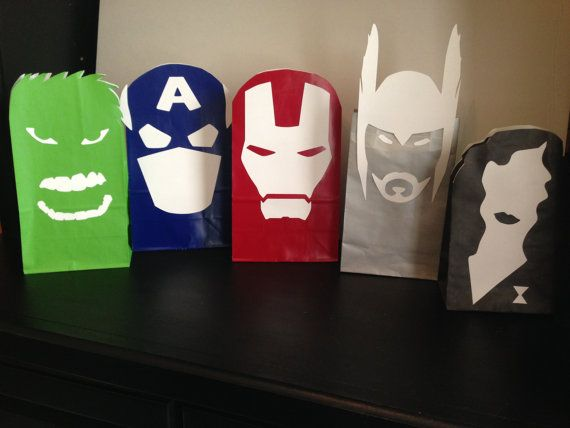 Avengers / Super Hero Gift Sack Printables By ClearlyCandace, Perfect For Your Avenger Or Super
