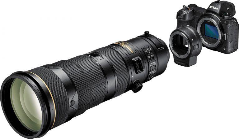 Nikon Z mirrorless system additional coverage (Z brochure